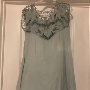 Urban Outfitters Blue Laced Dress